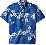 Reyn Spooner Men's Kloth Pullover Hawaiian Shirt