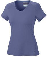 Columbia Women's Total Zero Short Sleeve V-Neck Top