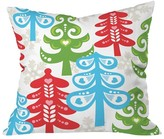 "DENY Designs Forest Tales Throw Pillow Multi-Colored (20"" x 20"