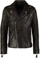 Gipsy Marlon Leather Jacket Oliv