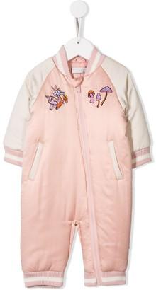 Stella McCartney embroidered cartoon snow suit