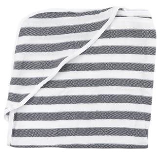 House of Jude Hooded Baby Turkish Towel Slate
