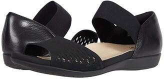 Earth Alder Amora (Black Multi Soft Buck) Women's Sandals
