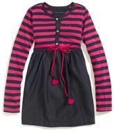 Tommy Hilfiger Stripe Belted Dress