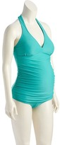 Old Navy Maternity Halter Tankini Top