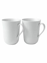 Royal Copenhagen Small Fluted Mugs (Set of 2)