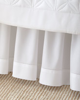 Home Treasures King White Sateen Dust Skirt
