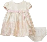 Iris & Ivy Metallic Jacquard Dress (Baby Girls)