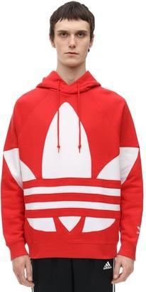 adidas Big Trefoil Jersey Sweatshirt Hoodie