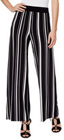 I.N.C International Concepts Striped Wide Leg Trousers