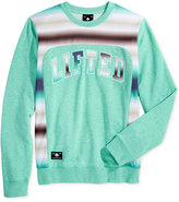 Lrg Men's Peoples Graphic-Print Embroidered Appliqué Sweater
