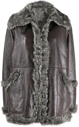 Manzoni 24 Shearling Zipped Jacket