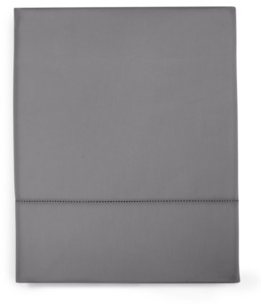 Charter Club Damask Solid Full Flat Sheet, 550 Thread Count 100% Supima Cotton, Created for Macy's Bedding