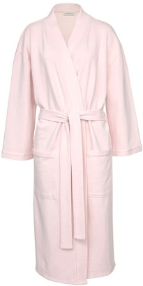 Wallace Cotton Nadine Organic Cotton Robe Pink