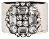 Gucci Crystal Cluster Cuff Bracelet