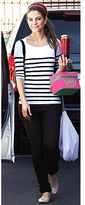Nautical Stripe Tee in White and Navy as Seen On Maria Menounos and Bethenny Frankel