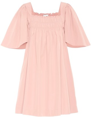 Three Graces London Emmeline cotton poplin dress