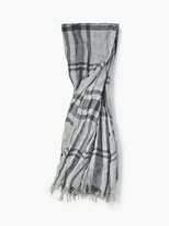 John Varvatos Plaid Scarf