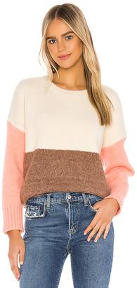 Line & Dot Middleton Color Block Pullover