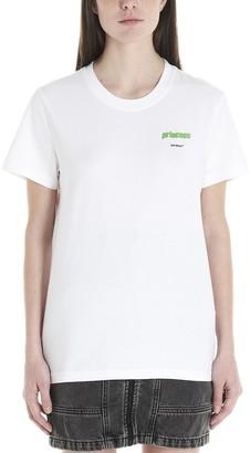 Off-White Slogan Printed T-Shirt