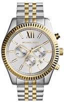 MICHAEL Michael Kors Michael Kors 'Large Lexington' Chronograph Bracelet Watch, 45mm