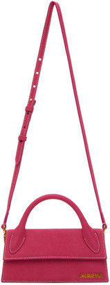 Jacquemus Pink Long Le Chiquito Clutch