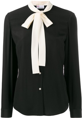 RED Valentino Pussy Bow Detail Shirt