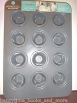 Martha Stewart Macy's Collection 12 Cups Mini Muffin Pan Nonstick -new