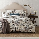 DwellStudio Peacock Duvet Cover, Full/Queen