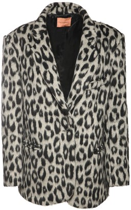 The Andamane Emily Oversize Flannel Blazer