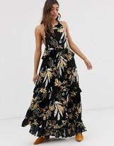 Free People Anita floral print maxi dress