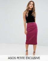 Asos Scuba Pencil Skirt