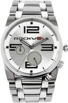 Rockwell Time FF-101 Men's 50mm Stainless Steel Silver and White Watch