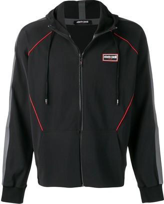 Roberto Cavalli Contrast Piped Trim Jacket