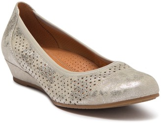 Gabor Perforated Ballet Flat