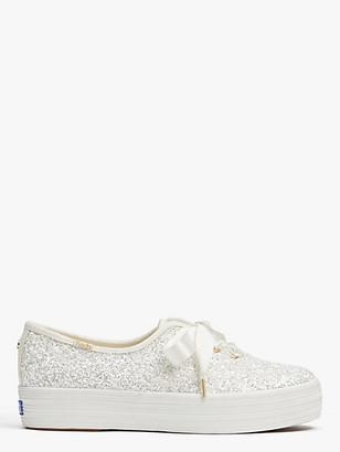 Kate Spade Keds X Triple Glitter Sneakers