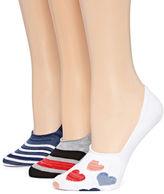 MIXIT Mixit 3-pc. Liner Socks