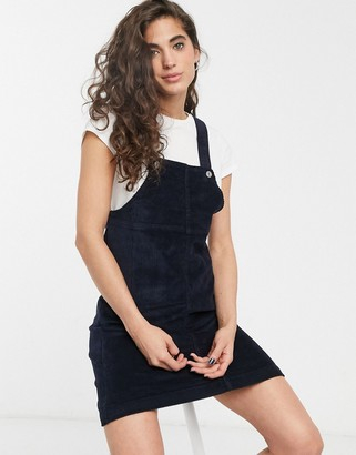 Only corduroy pinafore dress