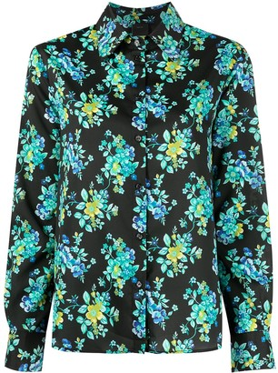 Pinko Long-Sleeved Floral Shirt