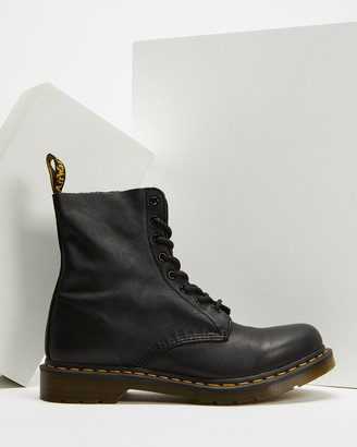 Dr. Martens Women's Black Lace-up Boots - Womens 1460 Pascal 8-Eye Boots - Size 9 at The Iconic