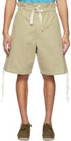 BEIGE Nicholas Daley Pullcord Shorts