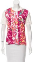 Issey Miyake Graphic Patterned T-Shirt