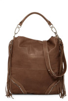 Liebeskind Berlin Tokio Fringe Leather Hobo Shoulder Bag