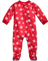 Family Pajamas 1-Pc Snowflake Meltdown Footed Pajamas, Baby Boys' or Baby Girls' (12-24 months) and Toddler Boys' or Toddler Girls' (2T-3T) Created for Macy's