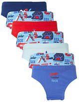 John Lewis Boys' Night Hike Briefs, Pack of 7, Blue