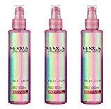 Nexxus Lot of 3 Bottles Color Assure Glossing Tonic, Shine Enhance 6.1 oz/each by