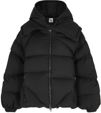 Bacon Amedeo Black Quilted Shell Jacket