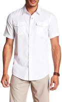 Burnside Short Sleeve Print Woven Regular Fit Shirt