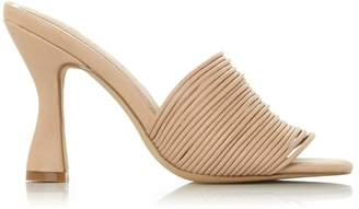 Dorothy Perkins Womens *Head Over Heels By Dune Nude 'Mae' High Heel Sandals, Nude