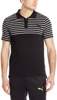 Puma Men's Fun Dry Jersey Block Polo Tees
